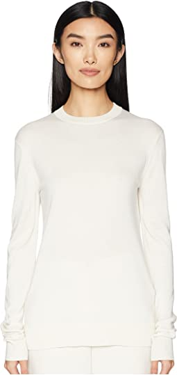 Long Sleeve Round Collar Knit