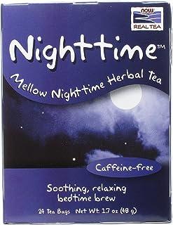 NOW Foods Real Tea Nighttime Herbal Tea - 24 Tea Bags