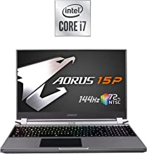 [2020] AORUS 15P (KB) Thin and Light Performance Gaming Laptop, 15.6-inch FHD 144Hz IPS, GeForce RTX 2060, 10th Gen Intel ...