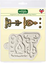 Katy Sue Designs Hinges and Screws Silicone Mold for Cake Decorating, Cupcakes, Sugarcraft, Candies, Clay, Crafts and Card Making, Food Safe