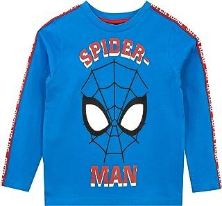 Marvel Camiseta de Manga Larga para niños Spiderman