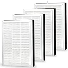 FFsign 4 Pack MA-25 Filters Replacement for Medify MA-25 Air Purifier, 2 Set H13 True HEPA Filter, 3 in 1 Pre-Filters & Ac...