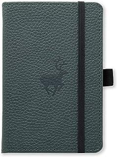 Dingbats Wildlife A6 Cuaderno Notebook - PU-Cuero, Papel 100gsm Crema Micro-Perforado, Bolsillo I...