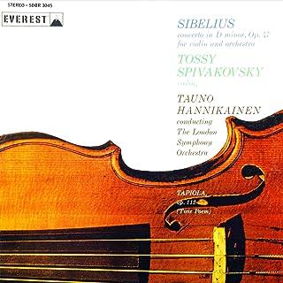 Sibelius: Violin Concerto in D Minor & Tapiola (Transferred from the Original Everest Records Master Tapes)