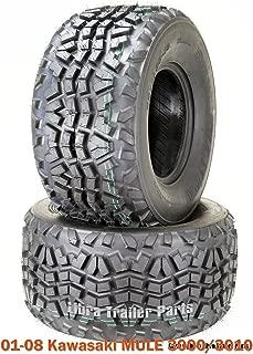 Set 2 Utility ATV tires 23x11-10 for 01-08 Kawasaki MULE 3000/3010 High Load Cap
