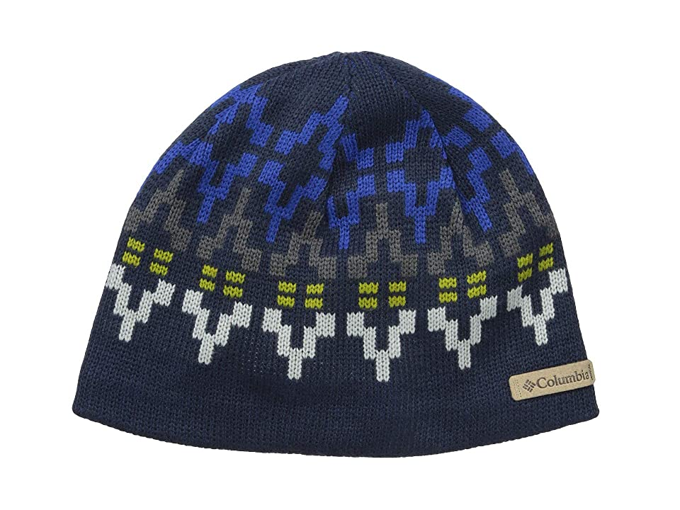 Columbia Alpine Action Beanie (Collegiate Navy Broken Fair Isle) Beanies
