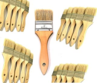 PANCLUB Chip Paint Brushes Bulk 2 inch | 45 Pack of Paint Brush for Home Wall Trim House | for Paint, Gesso, Glues, Varnishes, Stains, and Acrylics