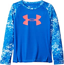 Under Armour Kids - Range Camo Big Logo Raglan (Little Kids)