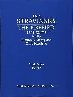 The Firebird, 1919 Suite: Study score