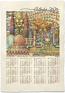 Poster Calendar 2020 (Malaysia), Wall Calendar, Wall Paper, Wall Decor, Wall Art, Home Decor, Kitchen Decor, Inspirational Wall Art, Kitchen Wall Decor, Artwork for Home Walls, Wall Hanging