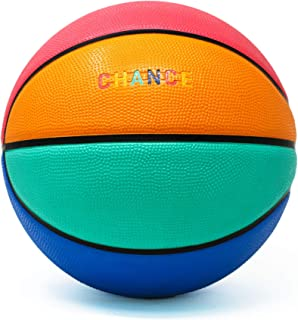 Chance Premium Rubber Outdoor / Indoor Basketball (Size 5 Kids & Youth, 6 Women's Official, 7 Men's Official) (Size 27.5, 28.5, 29.5)