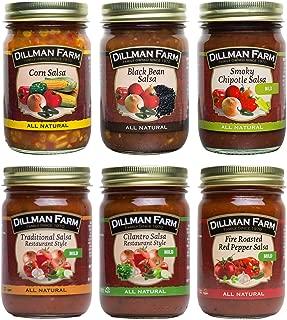 Dillman Farm 6 Piece Salsa Variety Pack