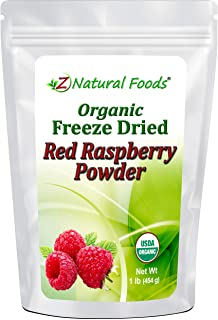Sponsored Ad - Organic Red Raspberry Powder - Freeze Dried Fruit Powder For Smoothie, Drinks, Baking & Recipes - Powdered ...