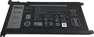 Genuine Dell Battery WDXOR 42Whr 4-cell 11.4V for Dell Inspiron 13 5368 5378 7368 7378, Inspiron 15 5565 5567 5568 5578 7560 7570 7579 7569 P58F and Inspiron 17 5765 5767 (Type WDX0R)