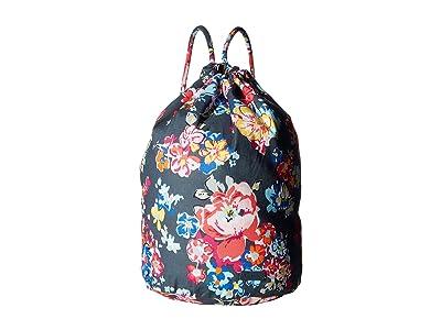 Vera Bradley Iconic Ditty Bag (Pretty Posies) Backpack Bags