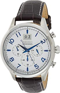 SEIKO Men's Quartz Watch, Analog Display and Stainless Steel Strap SPC155P1