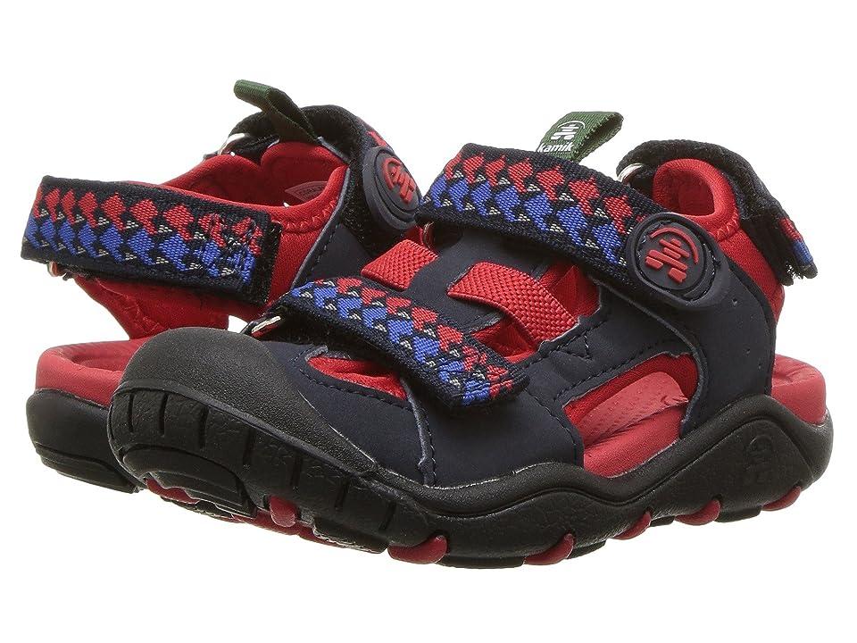 Kamik Kids Coralreef (Toddler/Little Kid/Big Kid) (Navy) Boys Shoes