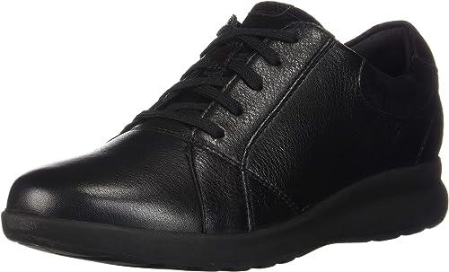 Clarks Femmes Couleur Noir noir Leather Suede Suede Combination Taille 41.5 EU   10 U  le meilleur service après-vente