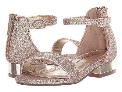 Nina Kids Hidi-T (Toddler/Little Kid) (Platino Glitter) Girls Shoes