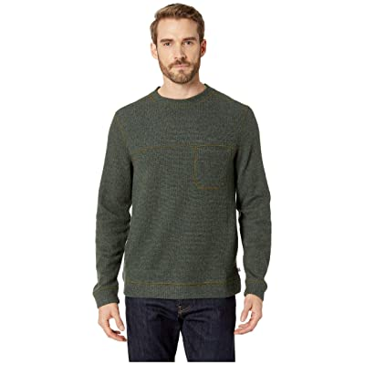 Toad&Co Breithorn Crew Sweater (Rustic Olive) Men