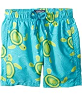 Vilebrequin Kids - Mosaic Turtles Swim Trunk (Toddler/Little Kids/Big Kids)