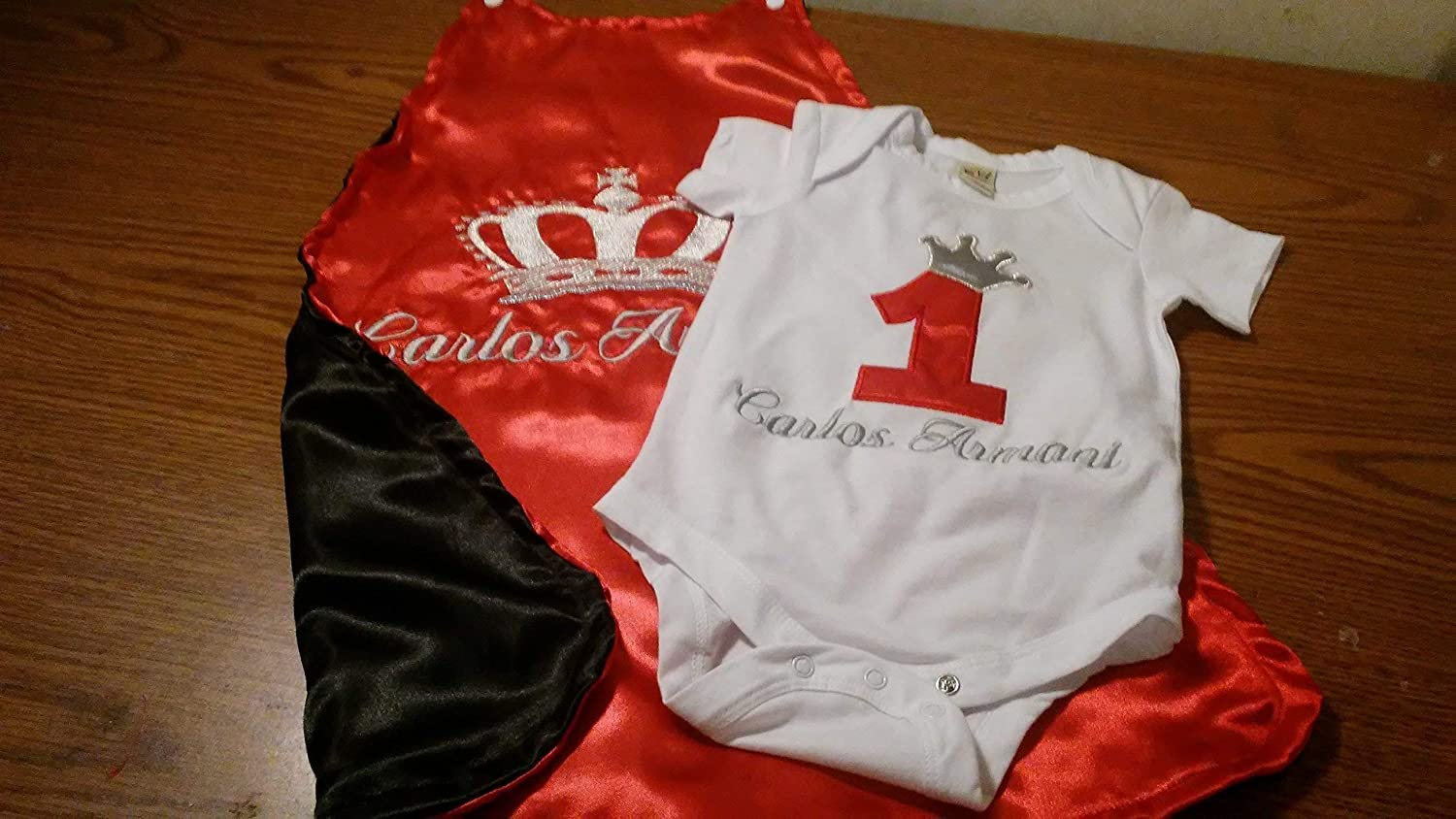 1st 2nd birthday Smash cake photo royalty Spring new work prop black an KING Now free shipping red