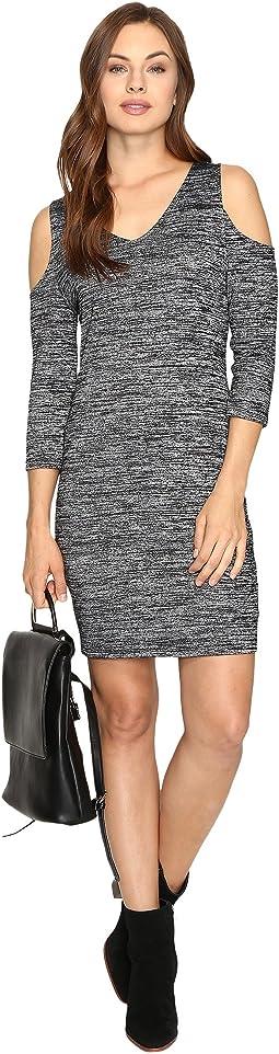Space Dye Jersey Dress KSDK7418