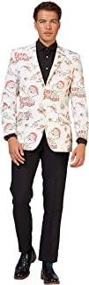 OppoSuits Christmas Jackets Blazers for Men in Different Prints - Includes Stylish Blazer