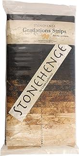 "Northcott Fabric Stonehenge Gradations Onyx 40 2.5"" Jelly Roll Strips"