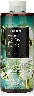 Korres Shower Gel - Pure Cotton by Korres for Unisex - 13.5 oz Shower Gel, 405 milliliters