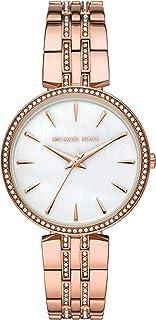 Women's Anabeth Three-Hand Rose Gold-Tone Alloy Watch MK7168
