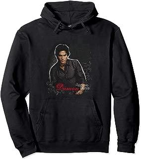 Vampire Diaries Damon Pullover Hoodie Pullover Hoodie