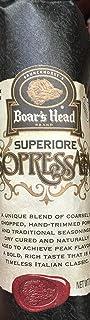 9oz Boar's Head Superiore Sopressata Chub (One Chub Per Order)