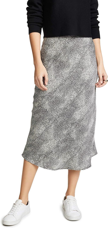 re:named Women's メーカー直売 Leopard Skirt Midi 在庫一掃売り切りセール