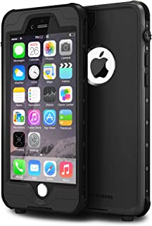 IMPACTSTRONG iPhone 6 Waterproof Case [Fingerprint ID Compatible] Slim Full Body Protection for Apple iPhone 6 / 6s (4.7