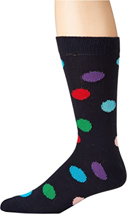 Row Polka Dot Sock