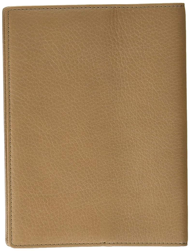 とは異なり王朝ベルベットスリップオン 両ポケット文庫判ブックカバー AZ 革 トープ IAZ-5806