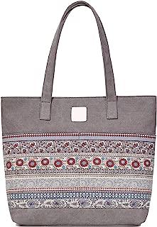 ArcEnCiel Women's Casual Canvas Tote Bags Shoulder Handbag Travel Bag