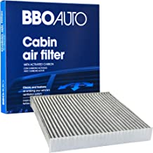 BBO AUTO BCF11182 Premium Cabin Air Filter with Active Carbon Media – Fits Honda Fit, Civic, HR-V, Insight, CR-Z, CR-V (CF11182 REPLACEMENT)