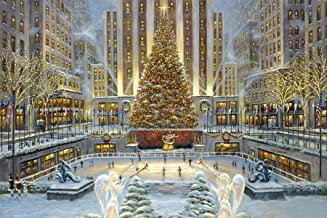 Christmas Tree Diamond Painting by LUHSICE, 55x80cm