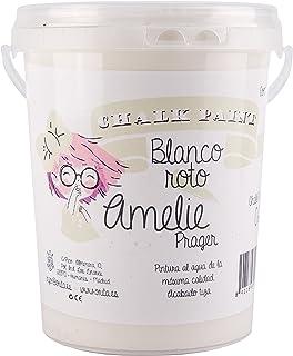 Amelie Prager 1000-02 Pintura a la Tiza Blanco Roto 1 l