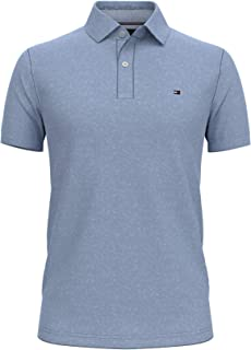 Men's Short Sleeve Stretch Polo Shirt in Slim Fit