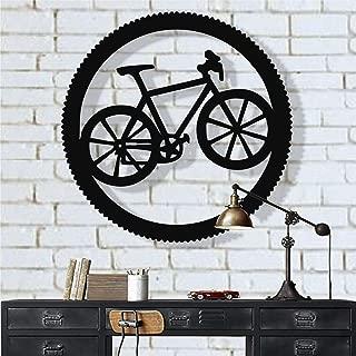 DEKADRON Metal Bike Wall Art, Cyclist Gift, Biker Art, Bicycle Wall Art, Metal Wall Decor, Home Office Decoration, Bedroom Living Room Decor, Housewarming Gift (18