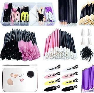 Sponsored Ad - 619 Pieces makeup tool kit, including eyeliner brush and mascara stick, lipstick applicator, hair tie, make...