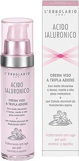L 'erbolario ácido hialurónico crema para la cara para normal y piel seca