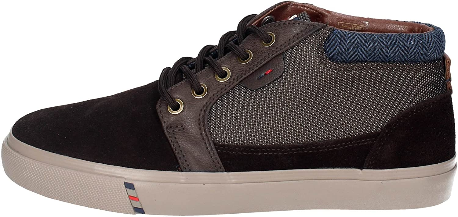 Wrangler shoes Men Sneakers ICON Chukka in Brown Suede WM172130-BROW