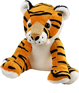 Athoinsu Tiger Stuffed Animals Curious Soft Plush Adorable Toy Gift for Kids on Easter Birthday Children, 11'' (Style 2)