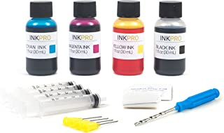 InkPro Premium Combo Ink Refill Kit for Canon PG-245, PG-245XL, CL-246, CL-246XL Cartridges
