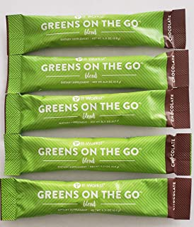 It Works Chocolate Greens on The Go - 5 Individual Packets in a Gift Bag