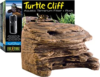 Exo Terra Turtle Cliff Aquatic Terrarium Filter/Rock